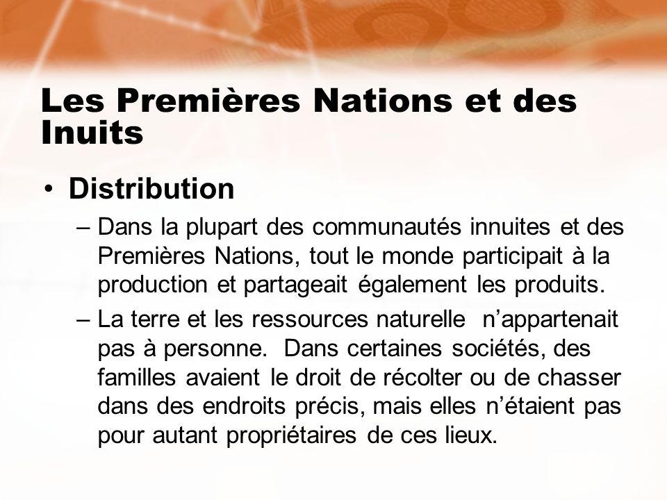 Les Premières Nations et des Inuits