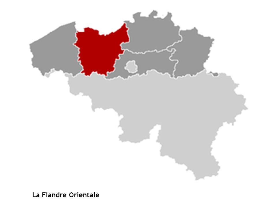 La Flandre Orientale PROVINCE FLANDRE ORIENTALE