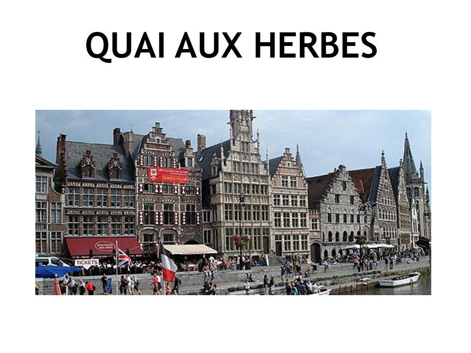 QUAI AUX HERBES GRASLEI La Pacification de Gand - 1570