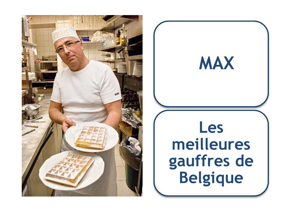 Les meilleures gauffres de Belgique