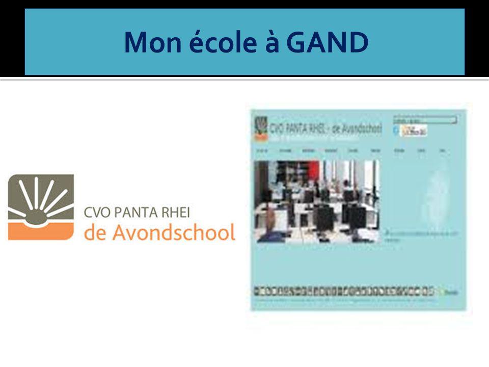 Mon école à GAND