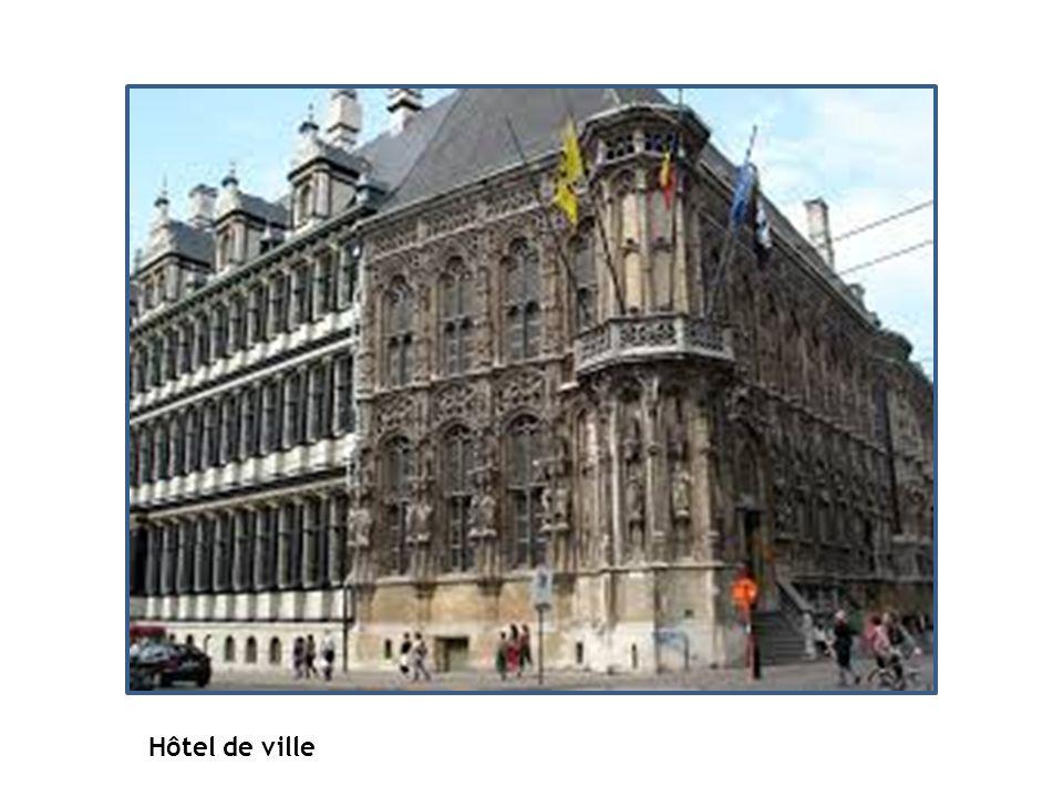 Hôtel de ville Hôtel de ville La Pacification de Gand - 1570