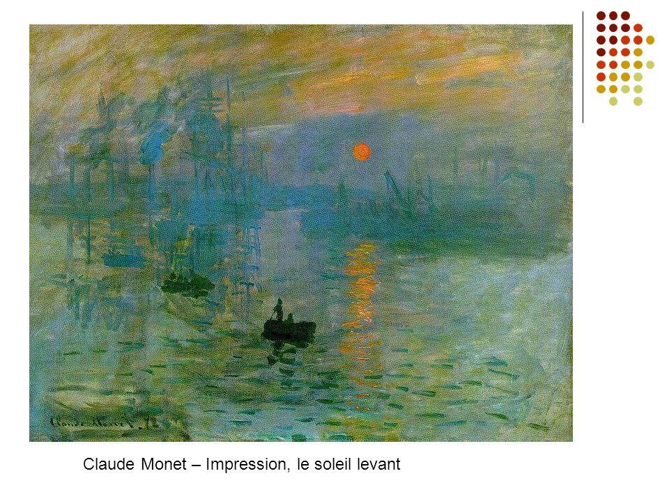 Claude Monet – Impression, le soleil levant