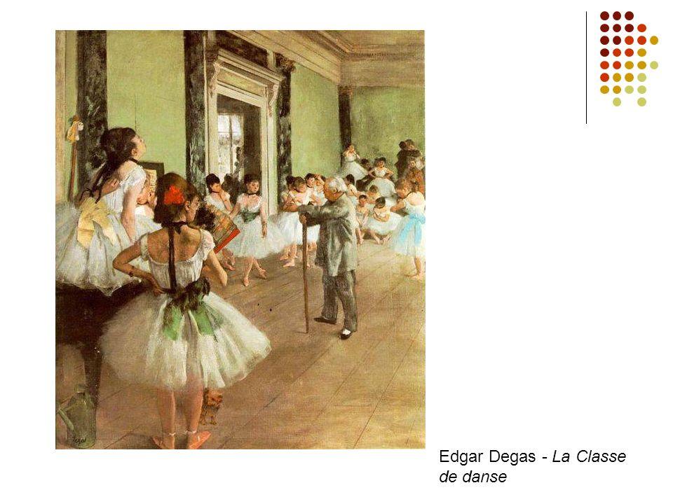 Edgar Degas - La Classe de danse