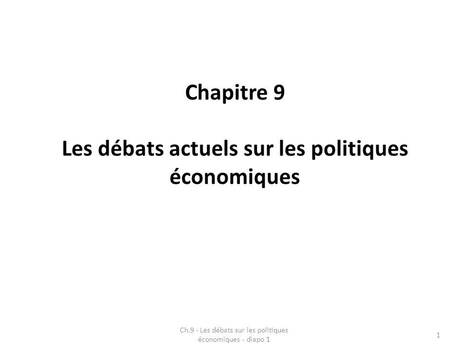 Les débats actuels sur les politiques économiques