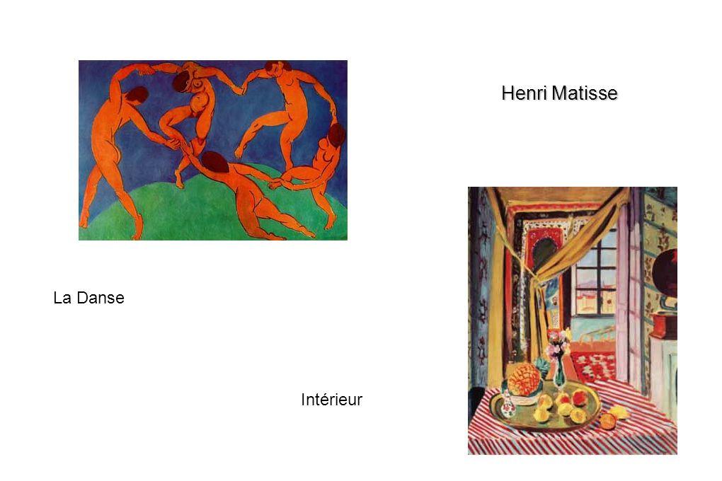 Henri Matisse La Danse Intérieur