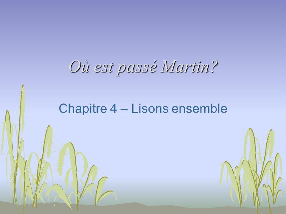 Chapitre 4 – Lisons ensemble