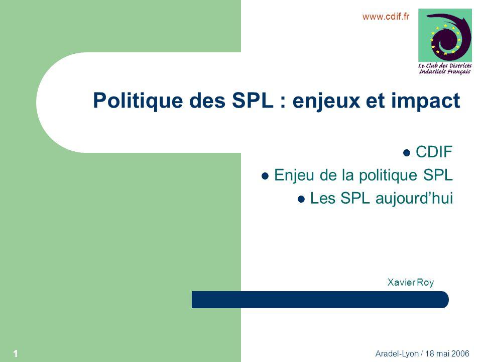 Politique des SPL : enjeux et impact