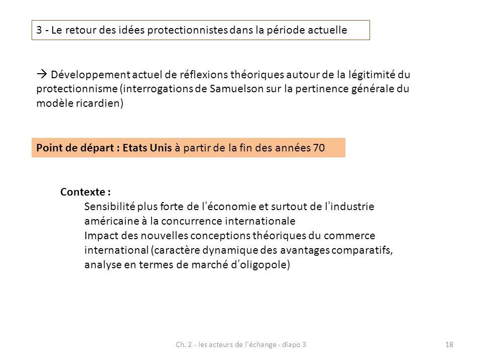 Ch. 2 - les acteurs de l échange - diapo 3