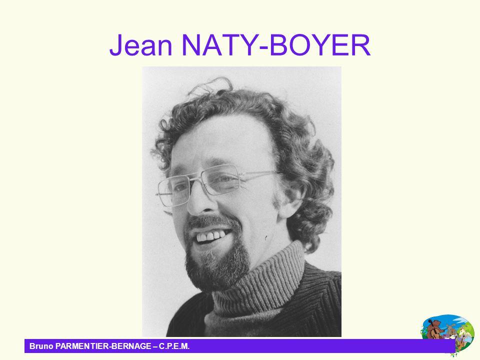 Jean NATY-BOYER Bruno PARMENTIER-BERNAGE – C.P.E.M.