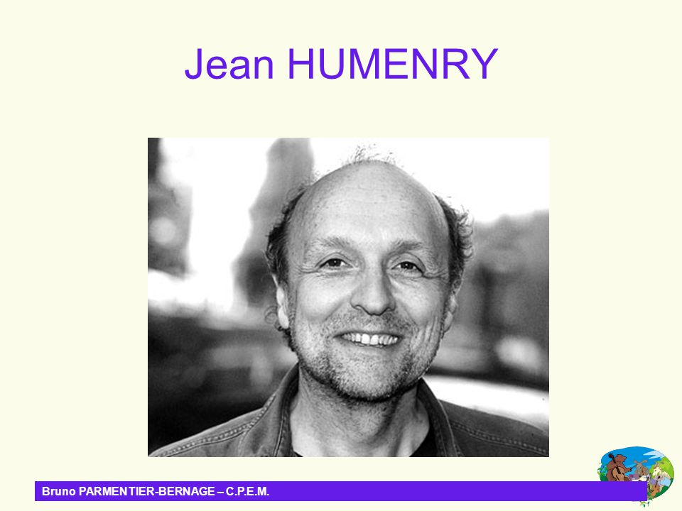 Jean HUMENRY Bruno PARMENTIER-BERNAGE – C.P.E.M.
