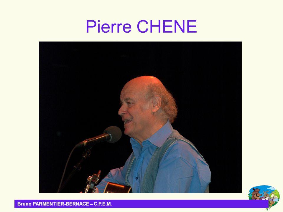 Pierre CHENE Bruno PARMENTIER-BERNAGE – C.P.E.M.