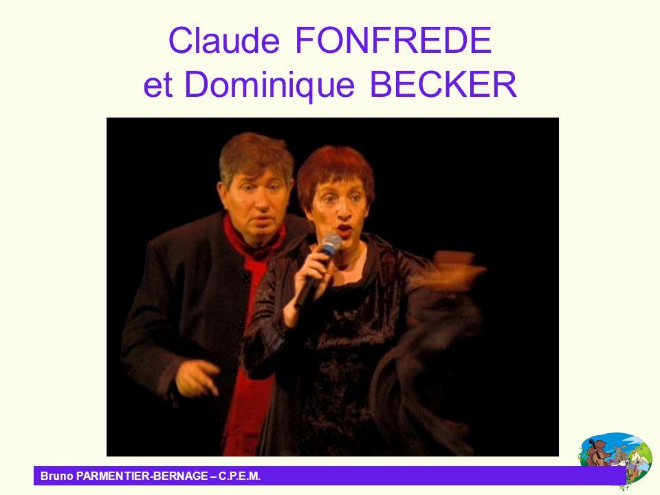 Claude FONFREDE et Dominique BECKER