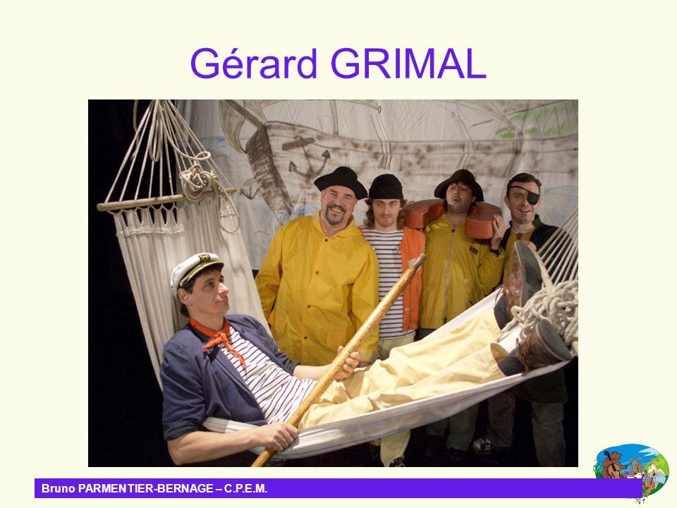Gérard GRIMAL Bruno PARMENTIER-BERNAGE – C.P.E.M.