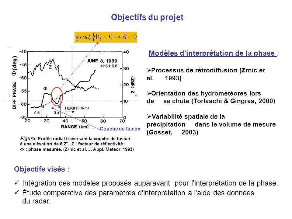 Objectifs du projet Modèles d interprétation de la phase :