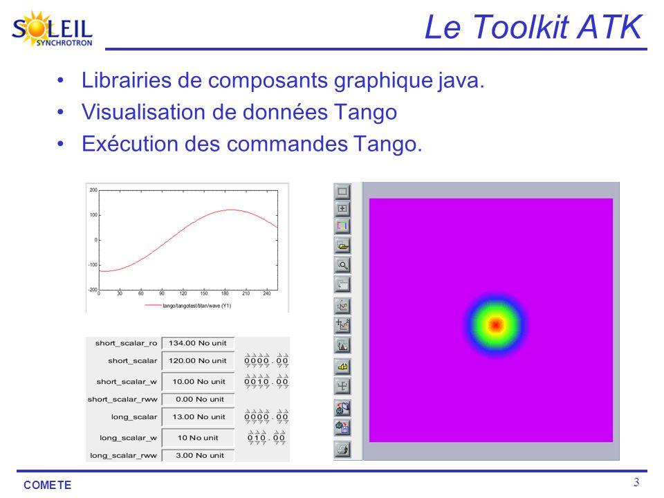 Le Toolkit ATK Librairies de composants graphique java.