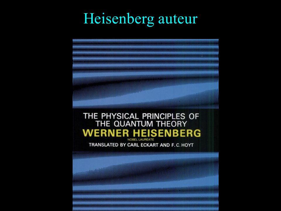 Heisenberg auteur