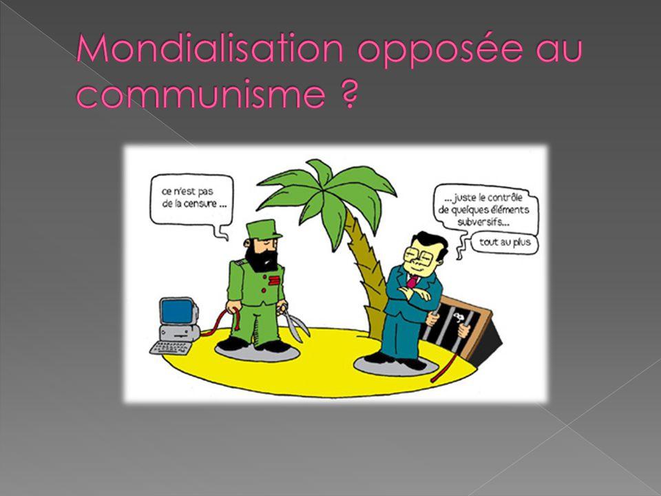 Mondialisation opposée au communisme