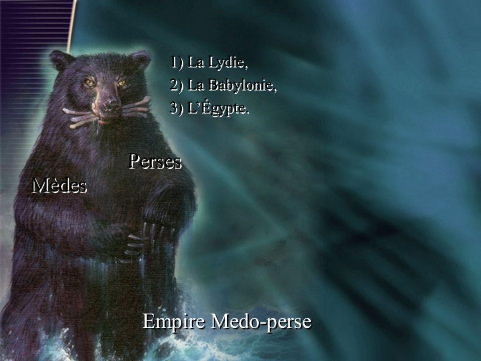 Perses Mèdes Empire Medo-perse 1) La Lydie, 2) La Babylonie,
