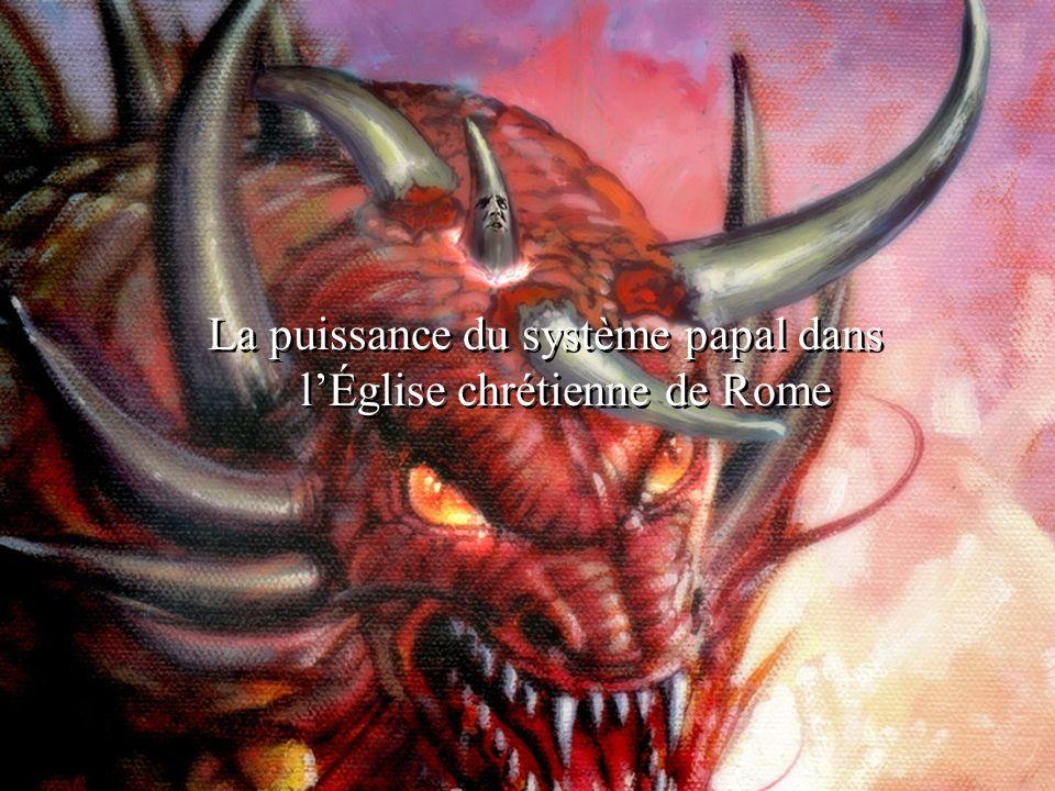La puissance du système papal dans l'Église chrétienne de Rome