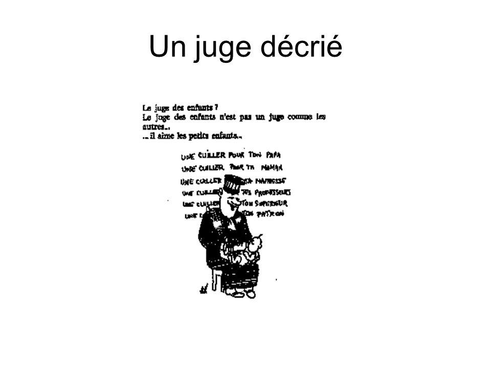 Un juge décrié