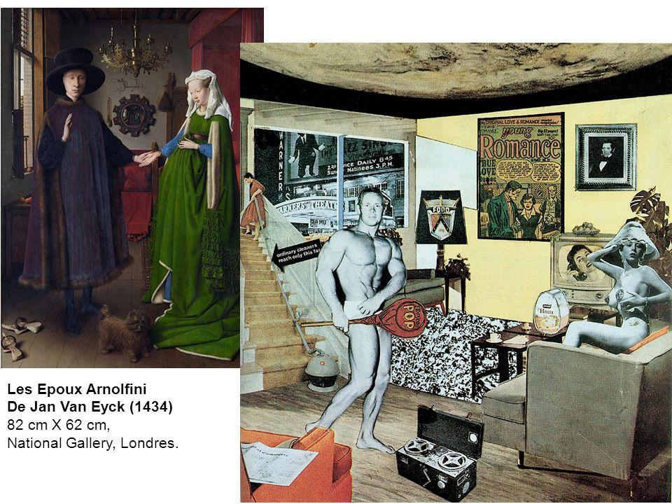 Les Epoux Arnolfini De Jan Van Eyck (1434) 82 cm X 62 cm, National Gallery, Londres.