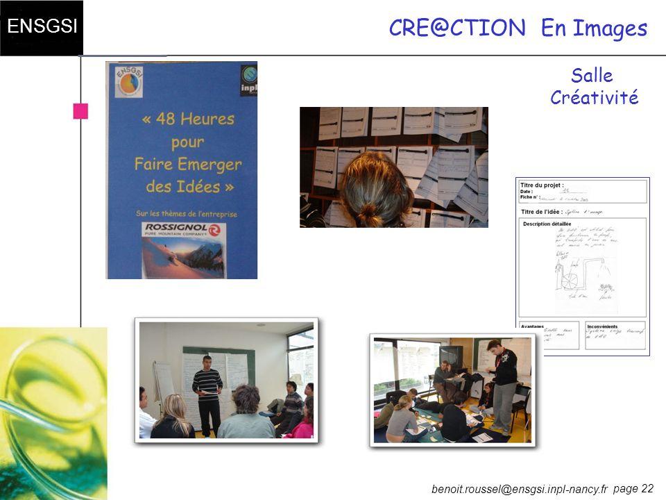 CRE@CTION En Images Salle Créativité