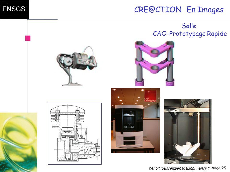 CAO-Prototypage Rapide