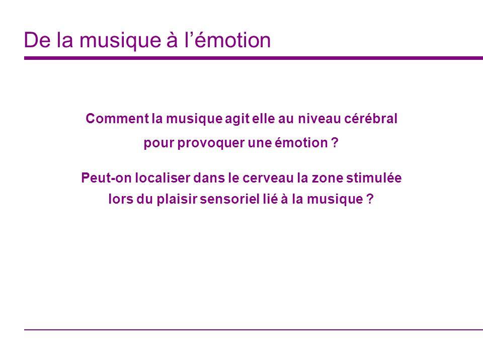 De la musique à l'émotion