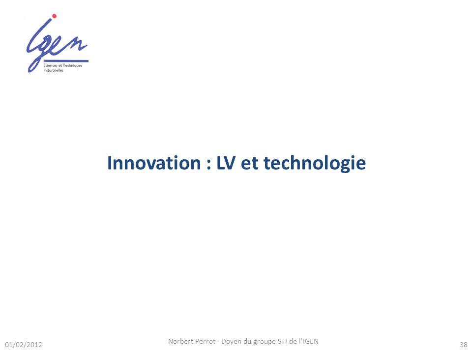 Innovation : LV et technologie