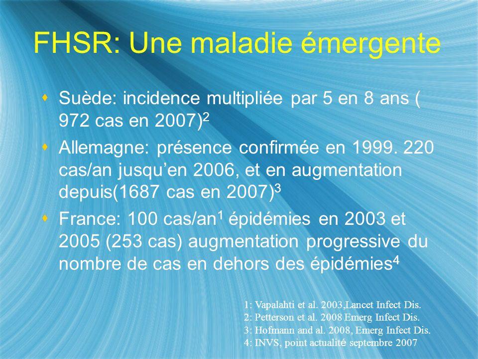 FHSR: Une maladie émergente