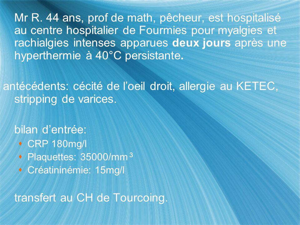 transfert au CH de Tourcoing.