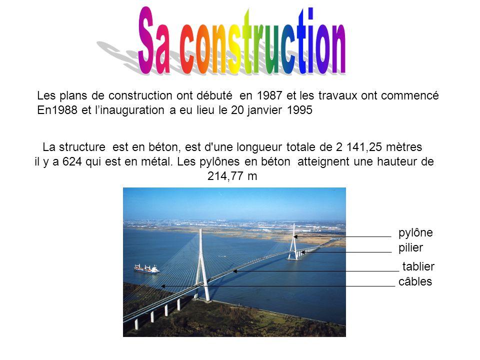 Sa construction Les plans de construction ont débuté en 1987 et les travaux ont commencé. En1988 et l'inauguration a eu lieu le 20 janvier 1995.