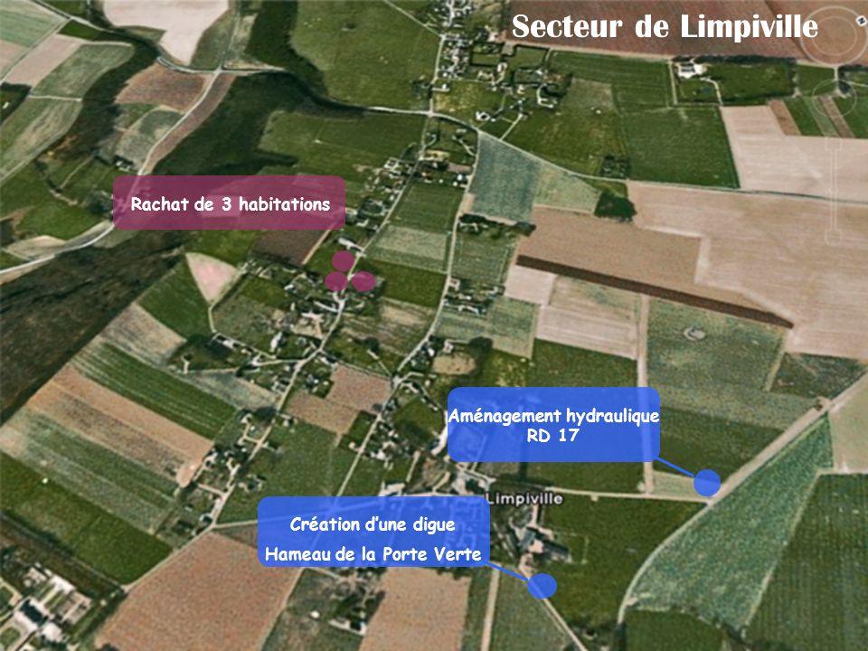 Aménagement hydraulique RD 17 Hameau de la Porte Verte
