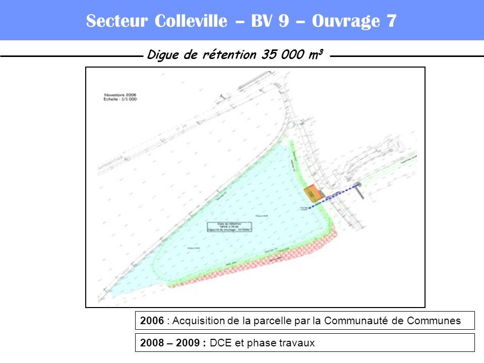 Secteur Colleville – BV 9 – Ouvrage 7