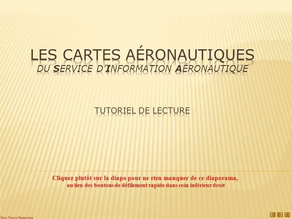 Les cartes aéronautiques du Service d'Information Aéronautique Tutoriel de lecture