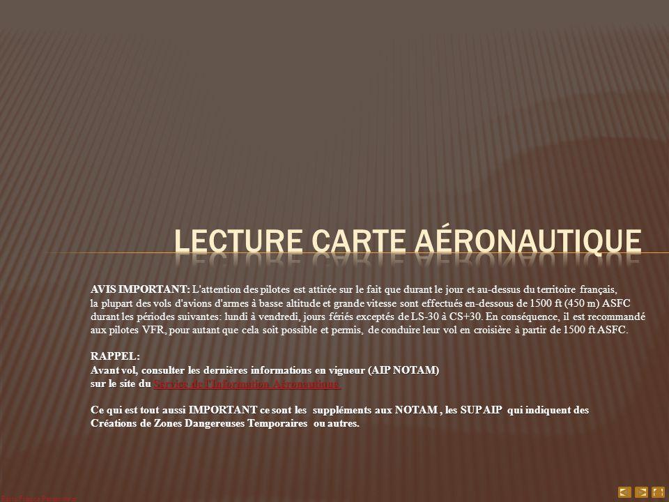 Lecture Carte aéronautique