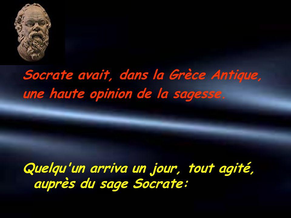 Socrate avait, dans la Grèce Antique,