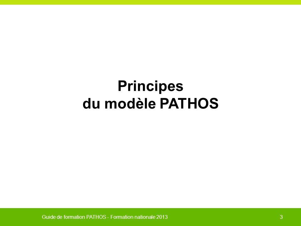 Principes du modèle PATHOS