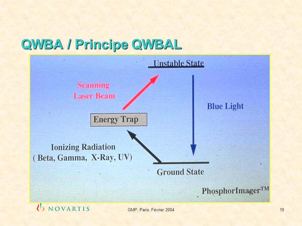 QWBA / Principe QWBAL GMP, Paris, Février 2004