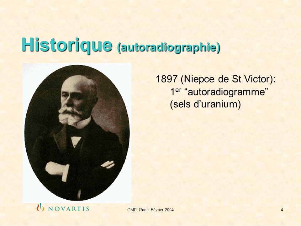 Historique (autoradiographie)