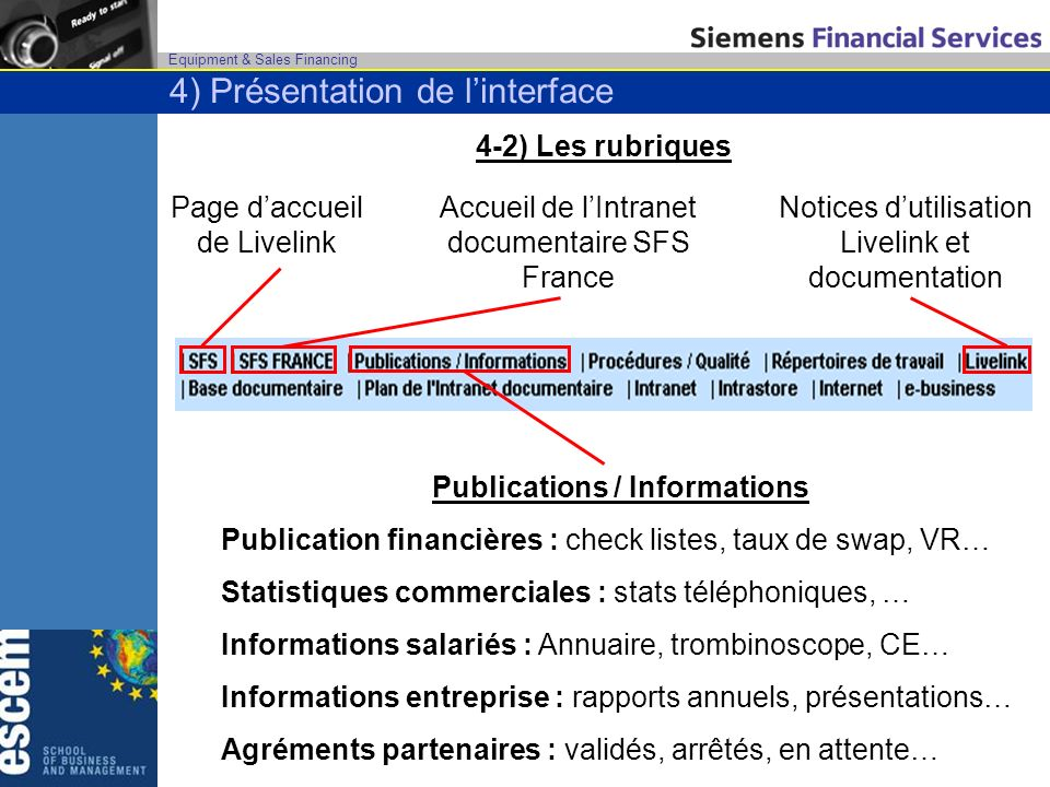 Publications / Informations