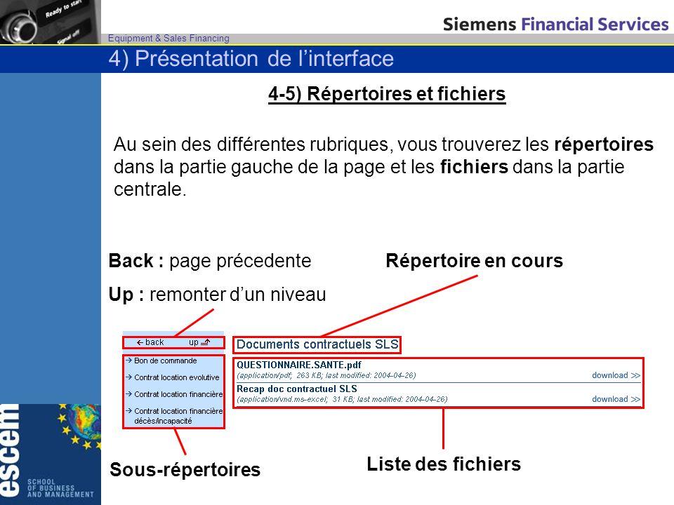 4-5) Répertoires et fichiers