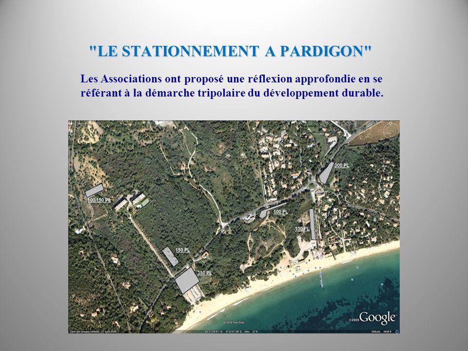 LE STATIONNEMENT A PARDIGON