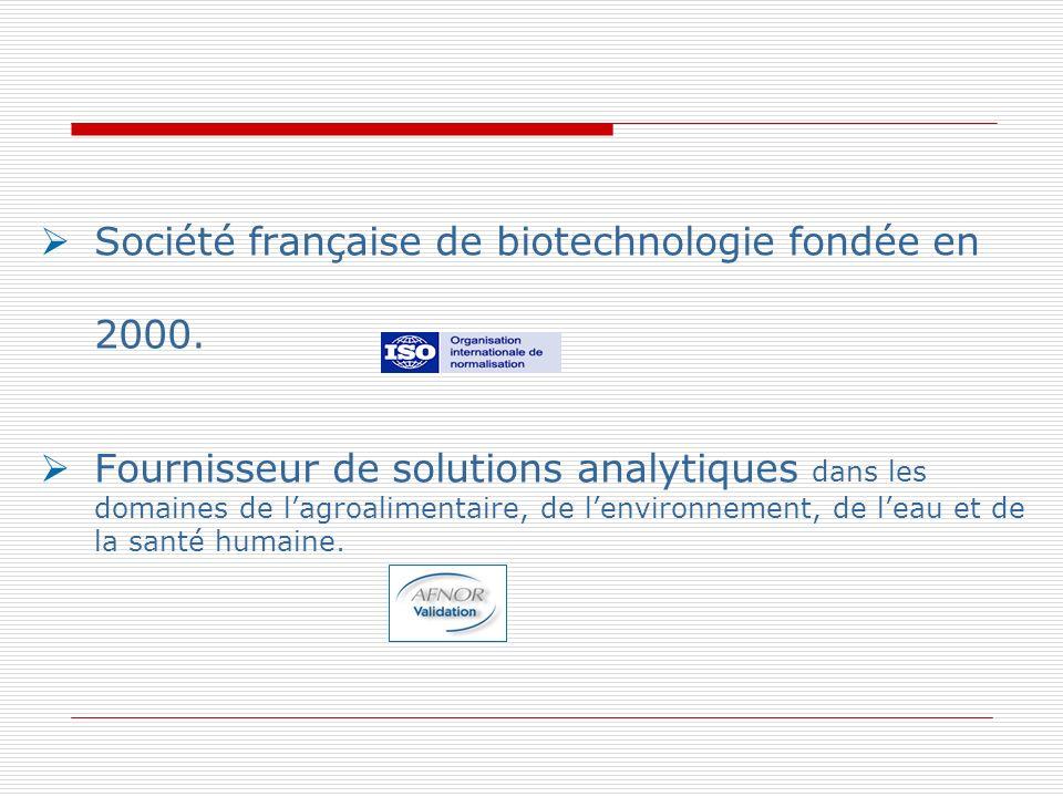 Société française de biotechnologie fondée en 2000.