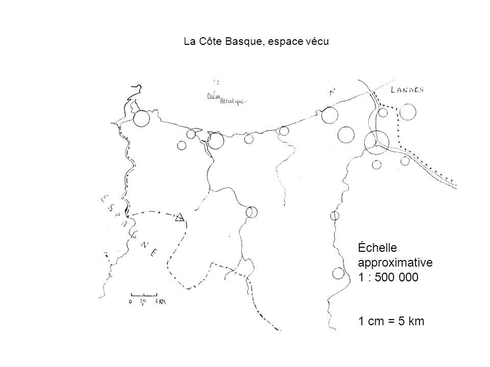 La Côte Basque, espace vécu