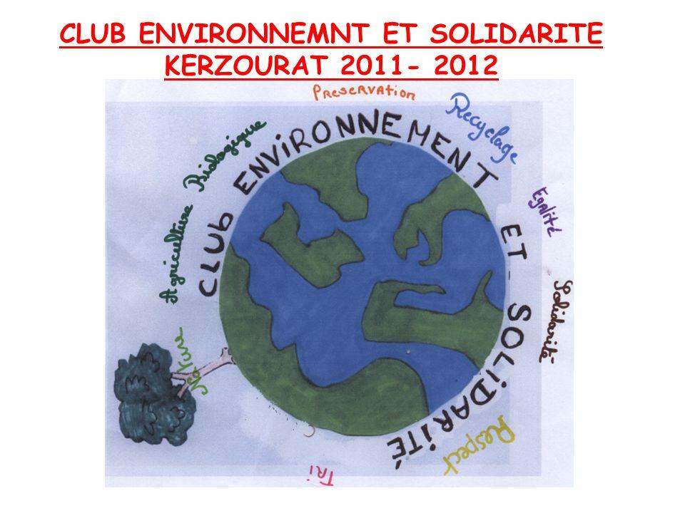 CLUB ENVIRONNEMNT ET SOLIDARITE