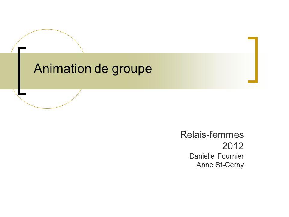 Relais-femmes 2012 Danielle Fournier Anne St-Cerny