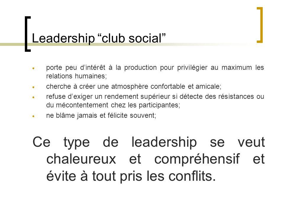 Leadership club social