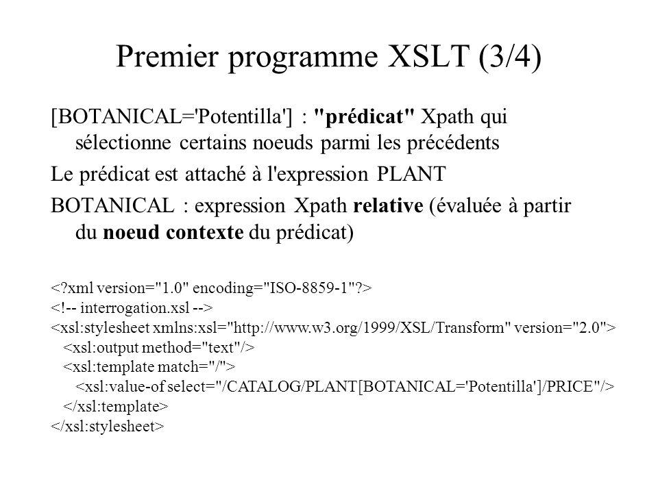 Premier programme XSLT (3/4)
